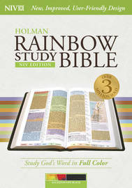 Rainbow Study Bible-NIV-Kaleidoscope