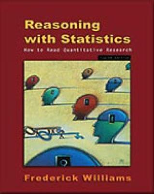 Reasoning With Statistics by Frederick Williams image