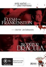 Flesh For Frankenstein / Blood For Dracula (2 Disc Set) on DVD