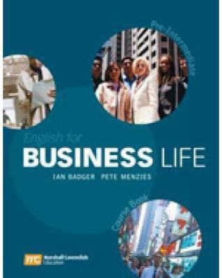English for Business Life: Pre-Intermediate by Ian Badger