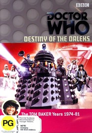 Doctor Who: Destiny of the Daleks on DVD image