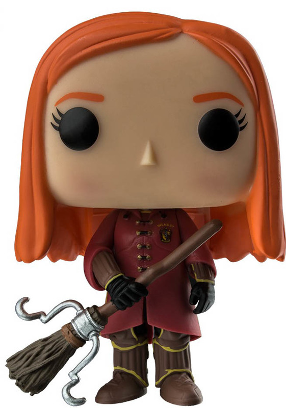Harry Potter - Ginny (Quidditch Robes Ver.) Pop! Vinyl Figure