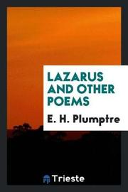 Lazarus and Other Poems by E H Plumptre image