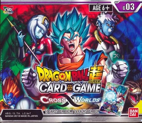 Dragon Ball Super TCG Cross Worlds Booster Box