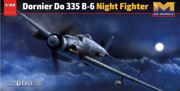 1/32 Dornier Do 335 B-6 Night Fighter - Model Kit