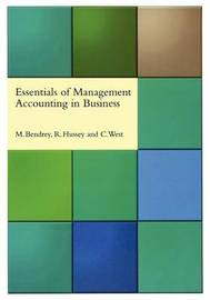 Essentials of Management Accounting in Business by Mike Bendrey image
