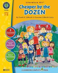 Cheaper by the Dozen: Grades 7-8 by Ernestine Gilbreth Carey image