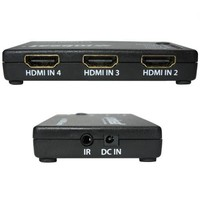 mbeat 4 Port Powered HDMI Switch with Remote Control image