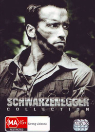 Schwarzenegger Collection Box Set on DVD image