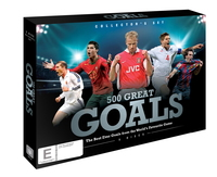 500 Great Goals Collector's Set on DVD