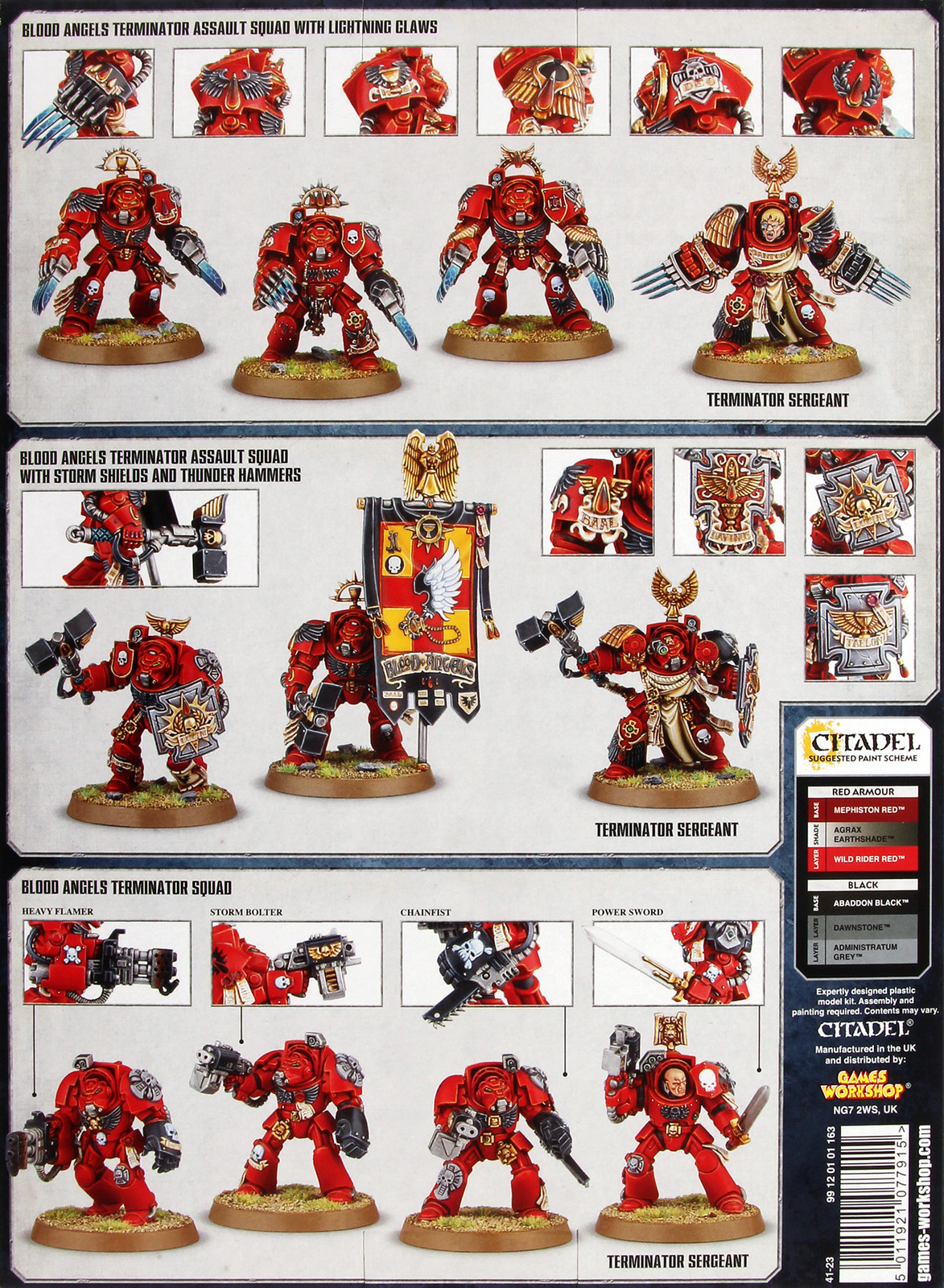 Warhammer 40,000 Blood Angels Archangels Orbital Intervention Force image