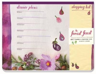 The Forest Feast Meal Planner and Shopping List: Magnetic Notepad by Erin Gleeson