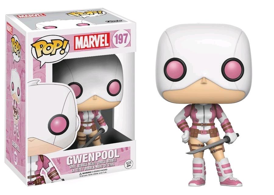 Marvel - GwenPool (Masked) Pop! Vinyl Figure image