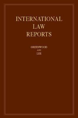 International Law Reports: Volume 171