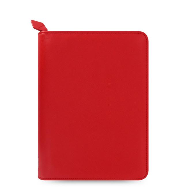 Filofax: Saffiano Zip Small Tablet Case - Poppy