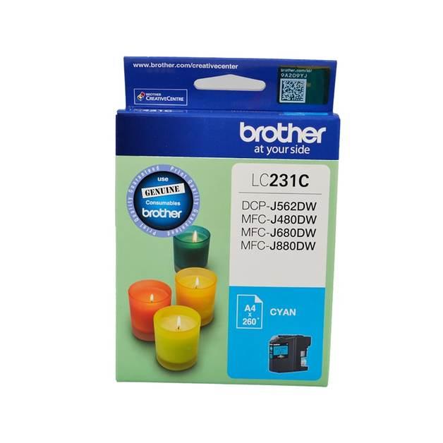 Brother LC-231C Ink Cartridge (Cyan)