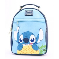 Loungefly: Lilo & Stitch - Stitch & Pineapple Backpack