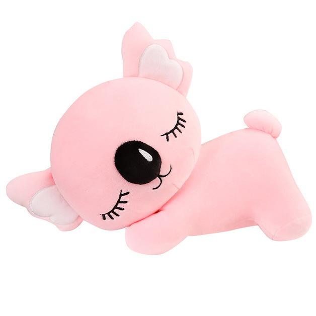 Sleeping Koala Plush - Pink (35cm)