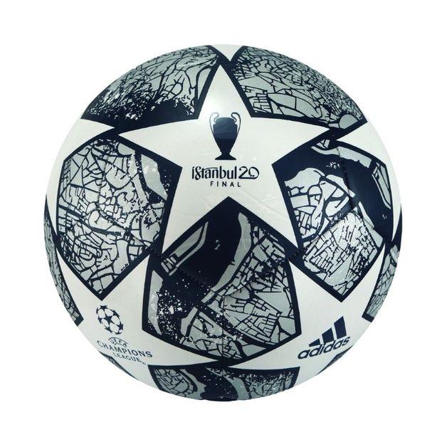 Adidas: Finale Istanbul Club - White/Royal/Cyan (Size 4)