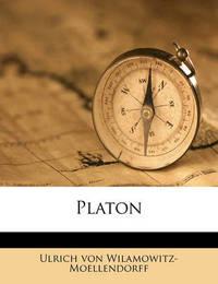 Platon by Ulrich von Wilamowitz -Moellendorff
