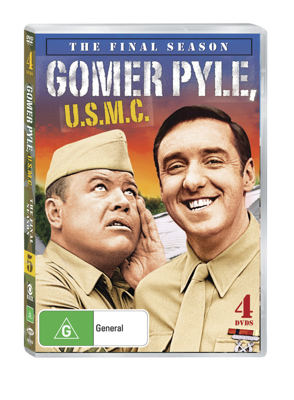 Gomer Pyle U.S.M.C: 5th (Final) Season (4 Disc Set) on DVD