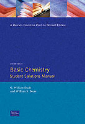 Basic Chemistry by William S. Seese