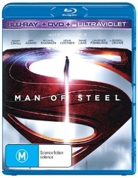 Man of Steel on DVD, Blu-ray