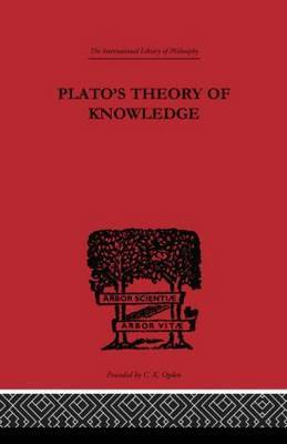 Plato's Theory of Knowledge by Francis Macdonald Cornford image