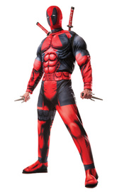 Marvel Deadpool Deluxe Costume (Size X-Large)