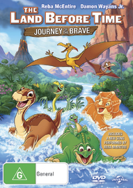 The Land Before Time: The Journey of The Brave on DVD