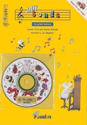 Jolly Songs (in Print Letters) by Laurie Fyke
