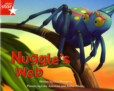 Fantastic Forest Red Level Fiction: Nuggle's Web by Lisa Thompson image