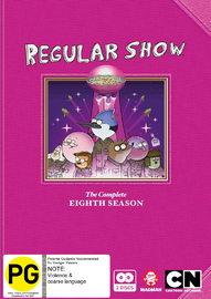Regular Show - The Complete Eighth Season on DVD