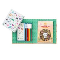 Tiger Tribe: Colouring Set - Animal All