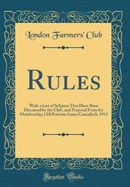 Rules by London Farmers Club image