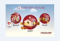 Moover: IQ Sorting House - 3-In-1 Wooden Toy