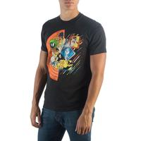 Looney Tunes - Circle Group Split T-Shirt (Small)
