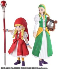 Dragon Quest XI Bring Arts: Veronica & Serena - Action Figure