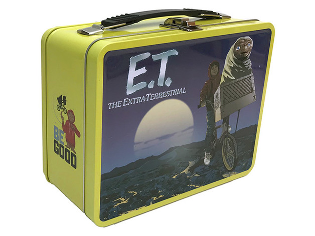 E.T. The Extra Terrestrial Retro Style Tin Tote