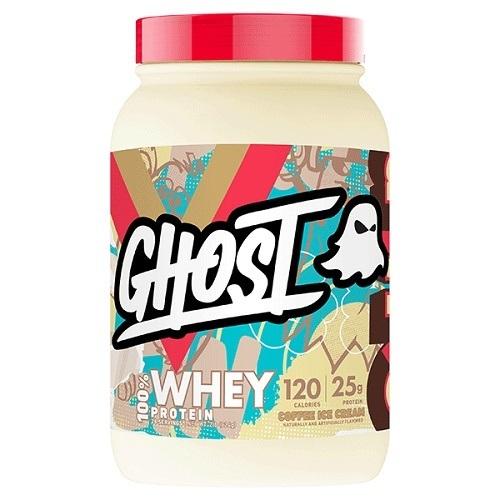 Ghost: Whey - Coffee Ice Cream (907g)