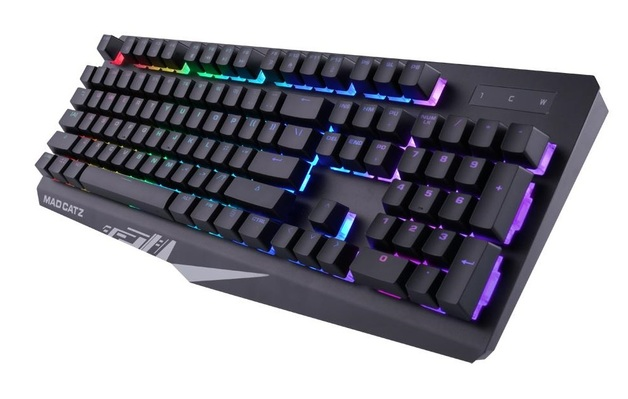 Mad Catz S.T.R.I.K.E. 2 Gaming Keyboard (Black) for PC