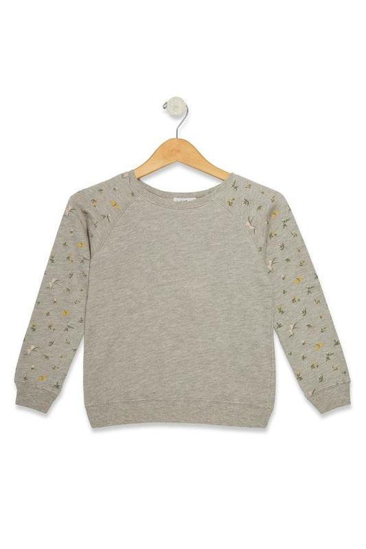 Sommers Sweatshirt - Petite Floral (Size S)