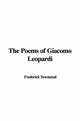 The Poems of Giacomo Leopardi image