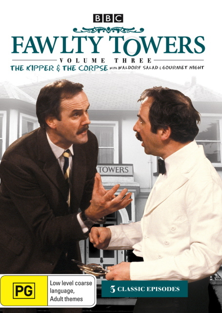 Fawlty Towers - Vol. 3: The Kipper And The Corpse on DVD
