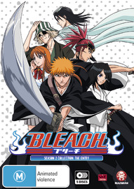 Bleach Collection 02 (Eps 21-41) on DVD