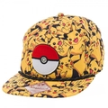 Pokemon Pikachu All Over Print Cap