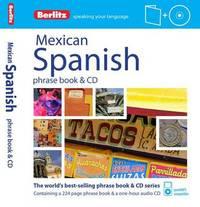 Berlitz Language: Mexican Spanish Phrase Book & CD by Berlitz