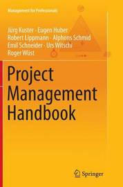 Project Management Handbook by Jurg Kuster image