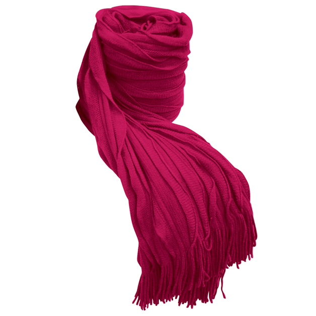 Bambury Cambridge Ruffle Throw Rug (Rose)