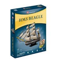 CubicFun: HMS Beagle Puzzle - 168 Piece 3D Puzzle